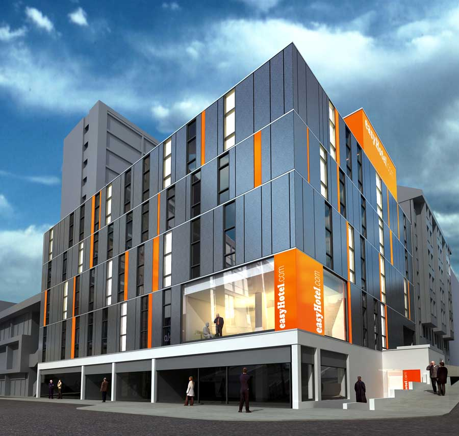 Easyhotel new glasgow hotel for Design hotel glasgow