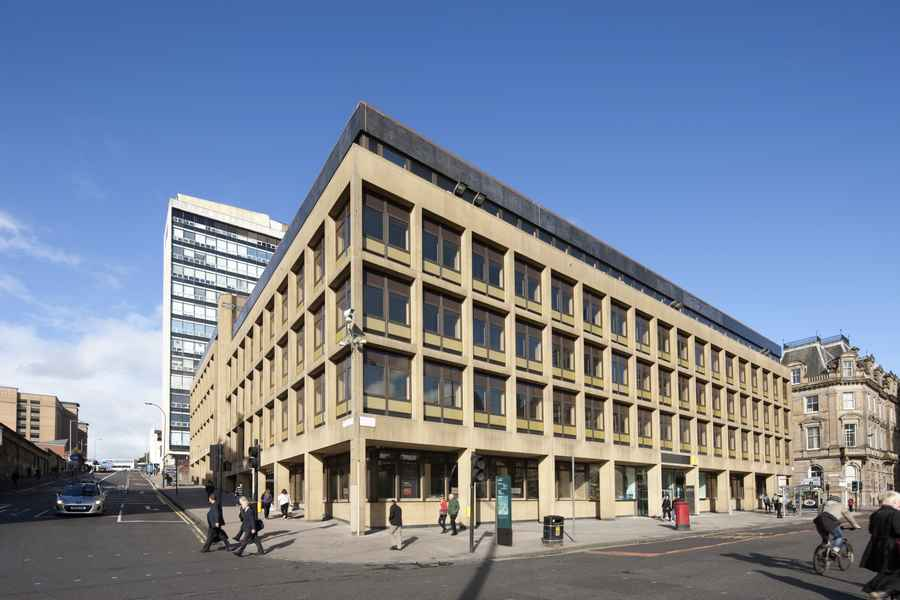 George House Redevco Glasgow Reiach And Hall