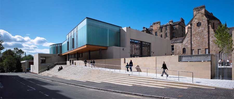 Glasgow schools education buildings strathclyde for Top uk architects