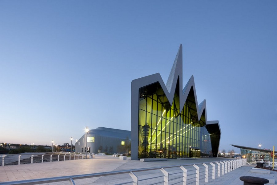 riverside museum zaha hadid glasgow transport. Black Bedroom Furniture Sets. Home Design Ideas