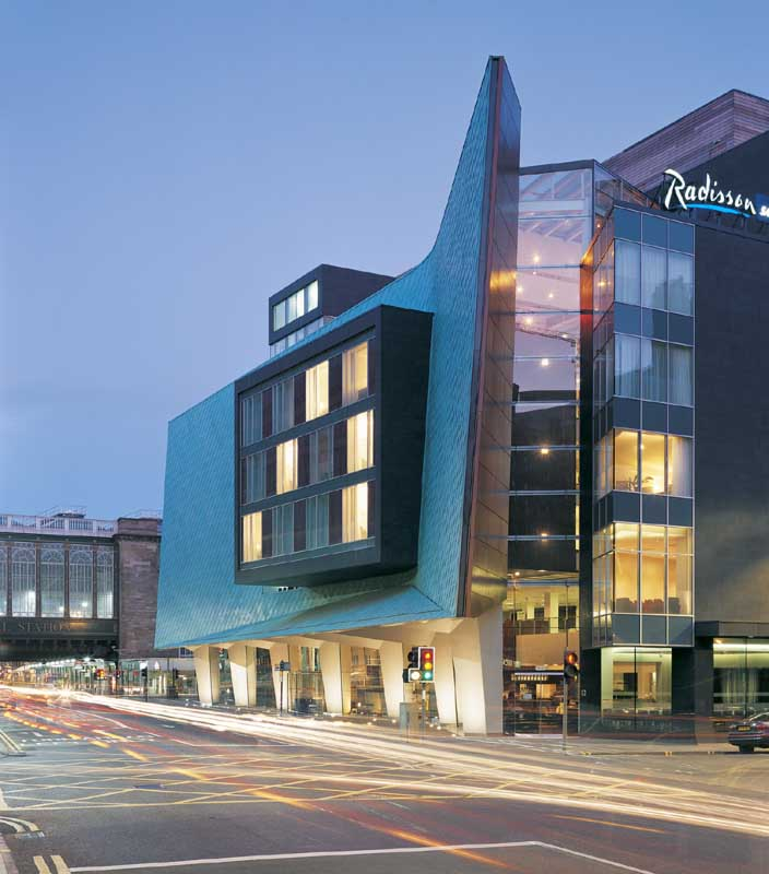 Radisson hotel glasgow scotland for Design hotel glasgow
