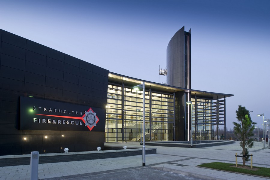 Uaill training centre strathclyde fire rescue for Building design courses