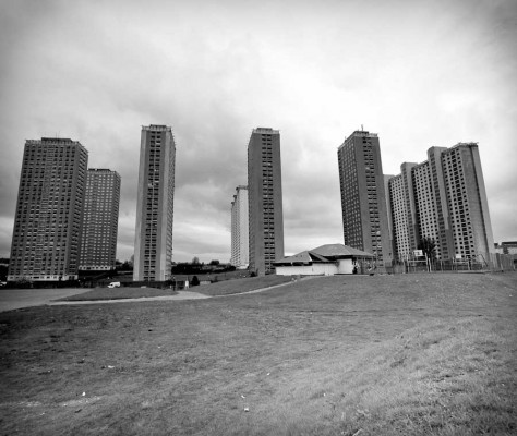 Red Road Flats Glasgow - Architecture News 2015